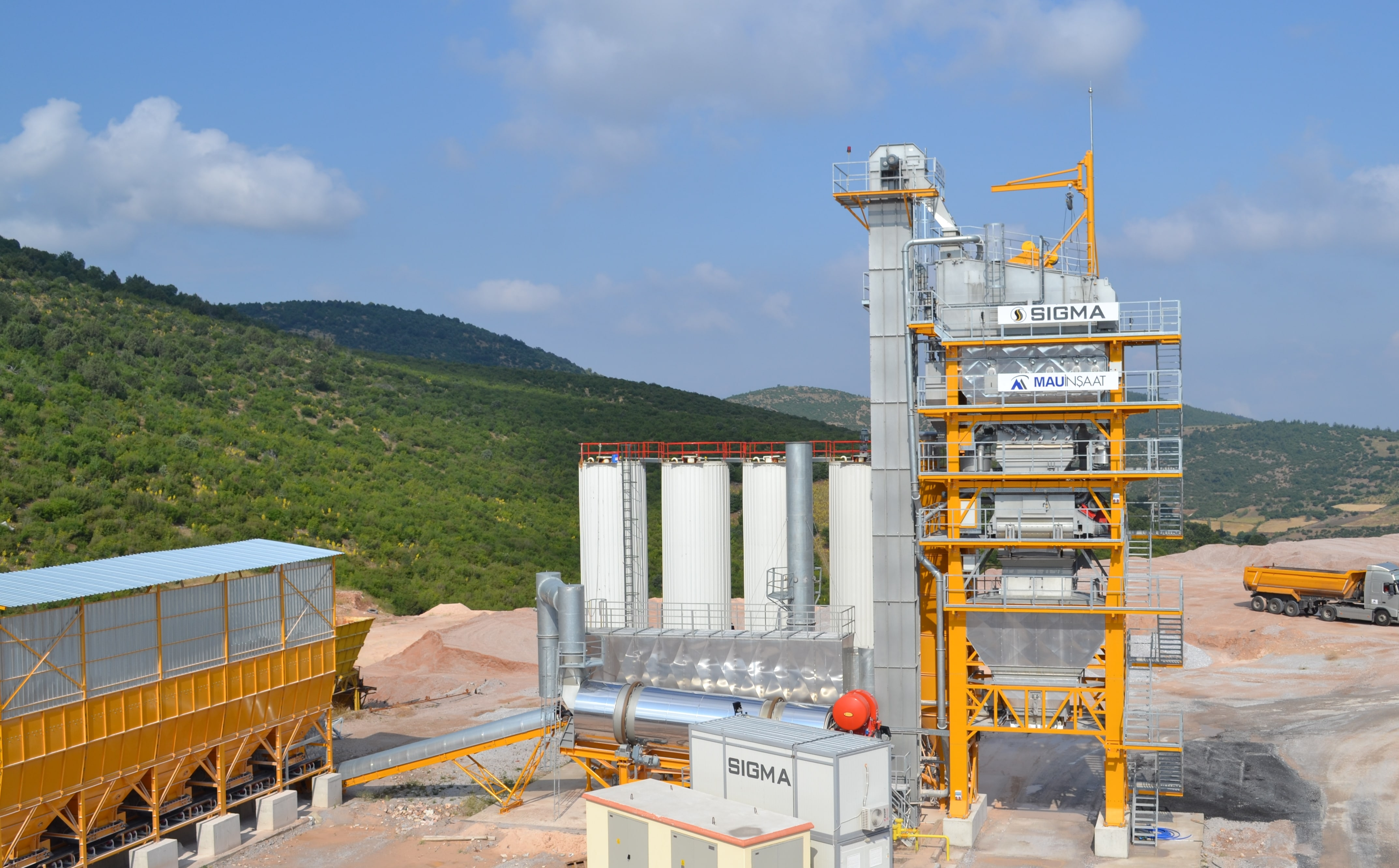 SIGMA PLANT FOR BALIKESIR – DURSUNBEY ROAD CONSTRUCTION IS STARTED-UP